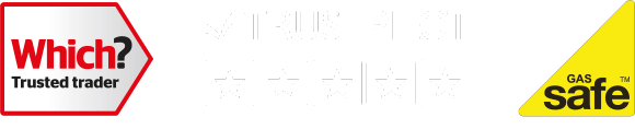 Which? Trusted Trader | Trust Pilot 5 Star Rating | Gas Safe - Register