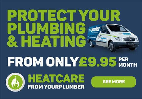 Protect Your Plumbing and Heating from only £9.95 per month - Heatcare from YourPlumber - See More
