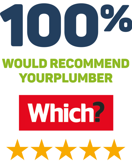 98% would recommend YourPlumber - 4.5 star Which? rating