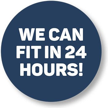 We can fit in 24 hours!